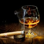 Some like cigars with their whiskey.