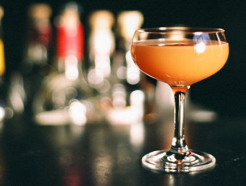 Crouching Tiger, Hidden Carrot is a signature drink by Caitlan Laman at Trick Dog.