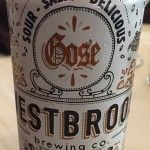 Gose? No way, said several of the attendees. I can see it being good with the right food though.