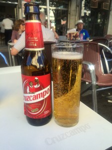Cruzcampo is Spain's most sold beer.
